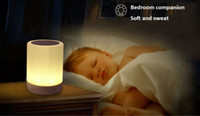 atmosphere music - Newest Romantic atmosphere colorful lamp LV500 mini with HD audio bluetooth TF card music playback Mio color alarm clock touch control