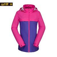 Gros-WHS New Windbreaker femmes Sport Jacket ville manteau de randonnée imperméable Hot Sale Lady Coat Fashion Style
