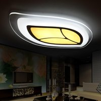 Wholesale Modern LED Ceiling Lights V V Remote Control Simple PMMA Chandelier For Home Light Decorative Luxury Living Room Lamp Indoor Lighting