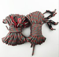 Wholesale Factory direct classical black white colour tent rope mm export quality grey red dot colour two colour