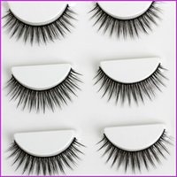 Wholesale pairs Makeup Handmad Natural Fashion False Eyelashes Soft long Eye Lash Cosmetic