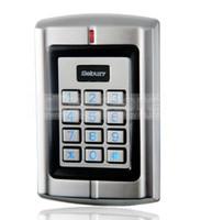 Wholesale Waterproof KHz Door RFID Metal Keypad Proximity ID Card Reader Access Controller System Free Key Fobs W3