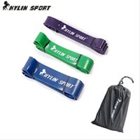 Wholesale Set of latex exercise Resistance Bands Loop Fitness Crossfit Power Lifting Pull Up Strength training