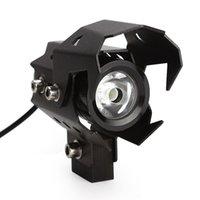 Wholesale U8 LED Spotlights Head Light Lamp Hight Quality Motorcycle Headlight Motorbike Waterproof High Low Flash Beam