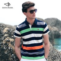 Wholesale 2016 Ocean Pa excellent new short sleeved POLO shirt lapel affordable quality M XL colors composition stripes