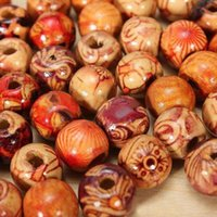 Wholesale 100Pcs mm Mixed Wood Round Beads Jewelry Making Loose Spacer Findings C00028