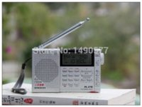 Wholesale Tecsun PL PLL Digital World Band Radio Receiver PL210 FM Stereo SW MW LW Dual Conversion Radio