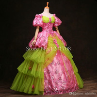 baroque costumes - High grade th th Century European Court Marie Antoinette Baroque Rococo Ball Gown Wedding Party Dress For Women Customized