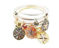 beaded starfish - 2016 alex and ani bangles Women Charms Alex Ani starfish Alloy pendant Bracelet Vintage gold Alex and Ani Bracelets Bangles pulseras NK26