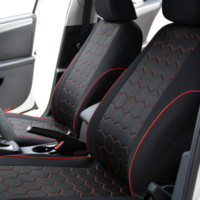 Wholesale AUTOYOUTH Soccer Ball Style Jacquard Full Car Seat Covers Set Universal Fit Most Car Covers Interior Accessories Seat Covers