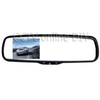 auto dimming rear view mirror - 3 quot TFT LCD Auto Dimming Special Car Rear view Mirror Monitor with Bracket CH Video Input mirror monitor