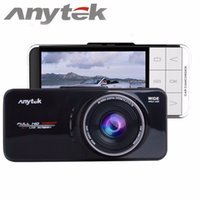 Wholesale car dvd Black Original Anytek AT66A Novatek AR0330 Car DVR Camera Recorder quot TFT Full HD P Degree Wide Car Camcorder