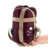 Wholesale Naturehike Outdoor Ultra light Camping Sleeping Bags Envelope Type Artificial Silk Waterproof Sleeping bags Portable Mini Size R130