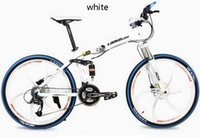 aluminum wheel paint - 26 inch magnesium alloy wheel hydraulic disc folding speed mountain cross country bike Electrostatic painting High quality tb250906
