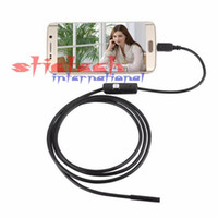 Wholesale 100 sets M Focus Camera Lens USB Cable Waterproof LED For Android Endoscope