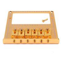 Wholesale Modern TL Guitar Humbucker Gold Pickups Bridge with Pattern