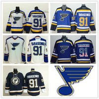 american apparel brands - 2016 NHL St Louis Blues Vladimir Tarasenko Blue Hockey Jerseys Best Quality American Hockey Player Jersey Brand Ice Hockey Apparel