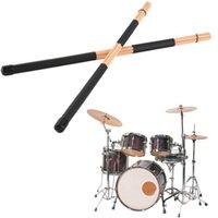 Wholesale Pair High Quality WoodenHot Rods Rute Jazz Drum Sticks Drumsticks cm