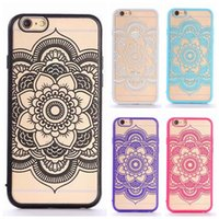 best iphone protective case - Popular Hollow Relief Indra flower TPU PC best cover case for iphone s s plus quot protective case