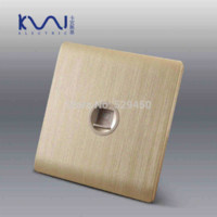 ac outlet wiring - Kempinski Luxury Wall Socket Single Computer Outlet Champagne Gold AC V C31 series Wall Switches
