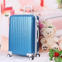 aluminium designer - wholesales factory price nylon aluminium trolley spinner custom designer travel luggage