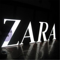 Wholesale Factory Outlet Custom Outdoor advertising front lit Acrylic led channel letters signs