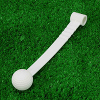 Wholesale Plastic Golf Swing Putting Training Practice Aids Ball with Stick Portable Rod Golf Ball Training Aid Golf Accessories