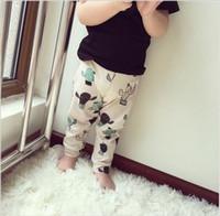baby legging patterns - New Spring Summer Children Kids Cactus Pattern Pants Baby Boys Girls Summer Pants Children Legging Year hight quality