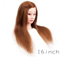 Wholesale Mannequin head with human hair doll head for practice inch doll head A_DH9258