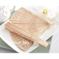 best party ideas - Fashion Elegant Chinese wood wedding fan best idea for wedding party gift
