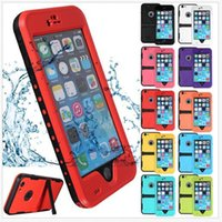 Wholesale Cover for iPhone s quot Original Redpepper Waterproof Case Shock Dirt Snow Proof Watertight Diving Underwater Case TPU Cover