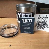 Wholesale Yeti lowball oz yeti rambler lowball yeti coolers cooler cup mug stainless with YETI logo retail box high quality free DHL