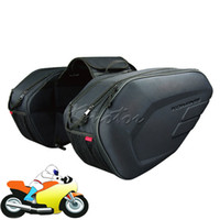 Wholesale Komine sa212 Motorcycle Saddle Bags Waterproof Motorbike Tail Side Bag Black Helmet Luggage Tool Bag L L