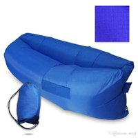 Wholesale Single air air portable inflatable sofa lazy sofa sofa sleeping bag lazybones air inflatable sofa bed sofa lazy beach bed