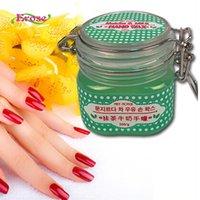 Wholesale g Natural Matcha Honey Milk Hand Wax Whitening Nourish Hands Care Exfoliate Hydrating removal peeling Hand Mask Skin Care