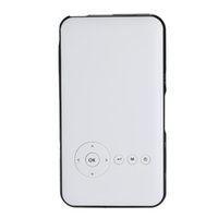 achat en gros de micro conduit projecteur-Plus nouveau Pico Mini LED Android 4.4 Bluetooth WiFi Support AirPlay Miracast Built-in Batterie HD WIFI Micro 1080p Projector