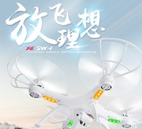 Wholesale WIFI RC Drone FPV Helicopter Syma Quadcopter with HD Camera G Axis VR Real D Experience RC Helicopter SYMA X5SW drone