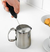 Wholesale 2016 New Coffee Milk Drink Electric Whisk Mixer Frother Foamer Egg Beater Electric Mini Handle Mixer Stirrer Kitchen Tool hot