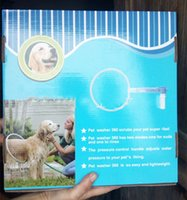 Wholesale 4pcs DHL free New products Pet Dog Cat Bathing Cleaner Shower Kit Woof Washer pet dog Gently clean