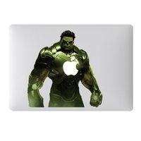 Wholesale Hot Hulk DIY Vinyl Decal Sticker for Apple Macbook Air Pro Retina inch Laptop Case Cover Cartoon Skin Sticker