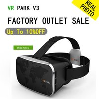 Wholesale VR PARK V3 GLASSES Virtual Reality D Glasses Google Cardboard D VR GLASSES D Movie for quot quot Smart Phone