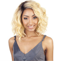 Cheap Ombre Color Bob Wig 1B 613 Glueless Lace Front Wig Ombre Full Lace Wig with baby hair Free Shipping