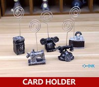 Wholesale European vintage note holder Camera Phone novelty photo holder as home decorative crafts