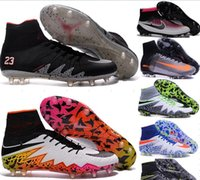 Wholesale mens ACC MaGIsta Soccer shoes High Ankle football Boots HERITAGE SuPERfly IV V CR FG MerCURial CR7 cleats shoes HypeRVEnom size