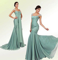 beaded hanging - Amazing Evening Dresses Front Hanging Belt Backless Off The Shoulder Formal Party Dresses With Sequin Beaded Zipper Back Prom Gowns WB