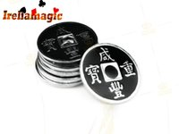 ancient chinese toys - Hot sale Classic Magic props Magic coins Magic Toys Ancient Chinese Coins