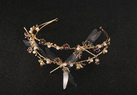 Spring / Autumn animal accesories - 2016 fashion Crystal Rhinestone Wedding wedding accesories sparkles crystal crown tiara hair TS108