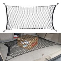 Wholesale Hot Sale cm x cm Plastic Hooks Car Trunk Lage Storage Mesh High Quality Cargo Organiser Nylon Elastic Mesh Net Holder