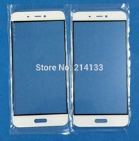 Wholesale Outer Glass Lens Replacement Parts for Xiaomi Mi5 touchscreen Outer Screen Glass with
