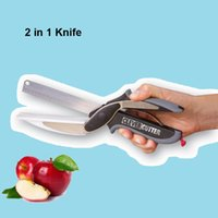 Wholesale 2 in Knife Clever Cutter Kitchen Knives Food Chopper Replace your Kitchen Knives and Cutting Boards Universal for Food Cut